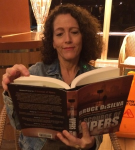 """Nancy Wright reading """"A Scourge of Vipers"""" by Bruce DeSilva"""