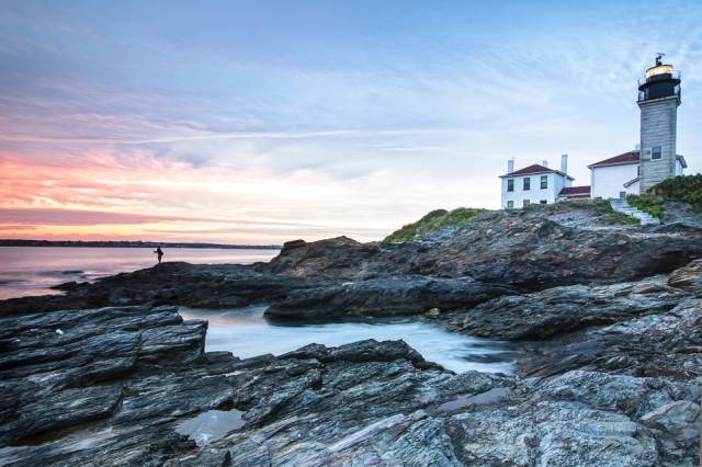 Beavertail Lightouse